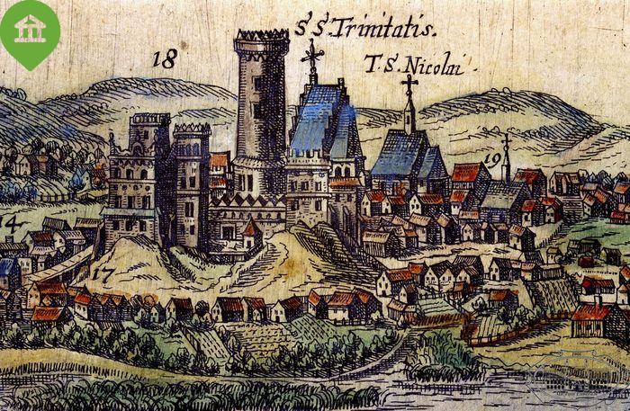 Historyczny obrazek kaplicy