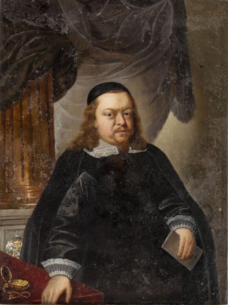 Portret mężczyzny z listem