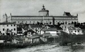 klikniecie spowoduje powiększenie, Zamek Lubelski i fragment dzielnicy żydowskiej