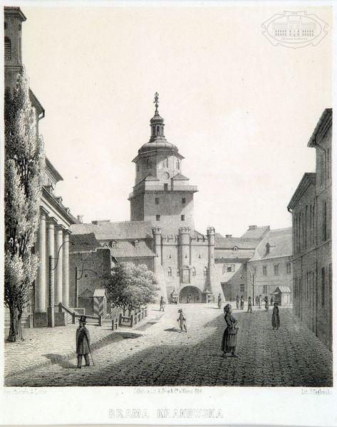 Zdjęcie bramy krakowskiej