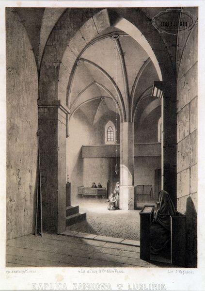 zdjęcie wnętrza kaplicy