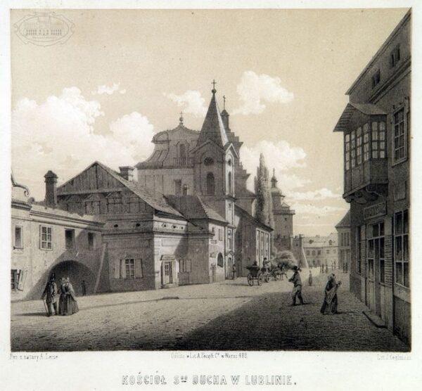 zdjęcie kościół i szpital