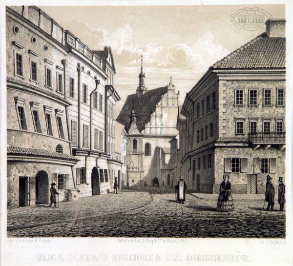 zdjęcie ulicy złotej