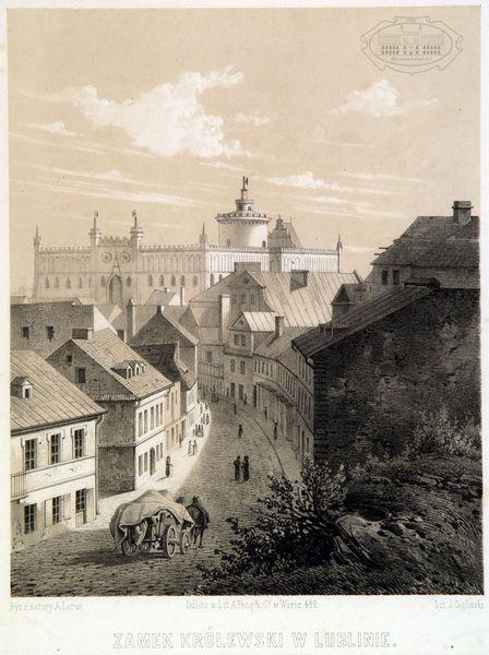 zdjęcie widok na zamek