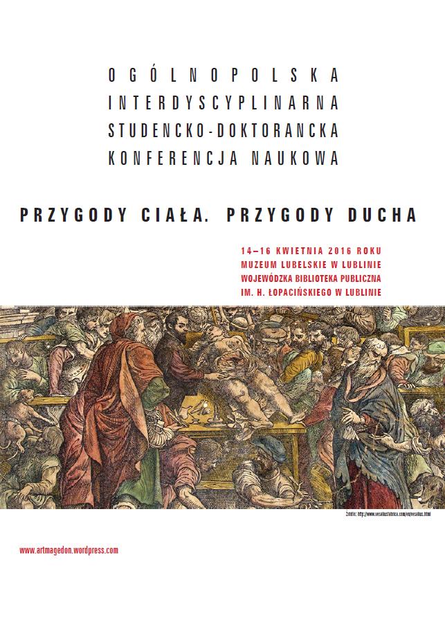 Plakat konferencji 14-16.04.2016