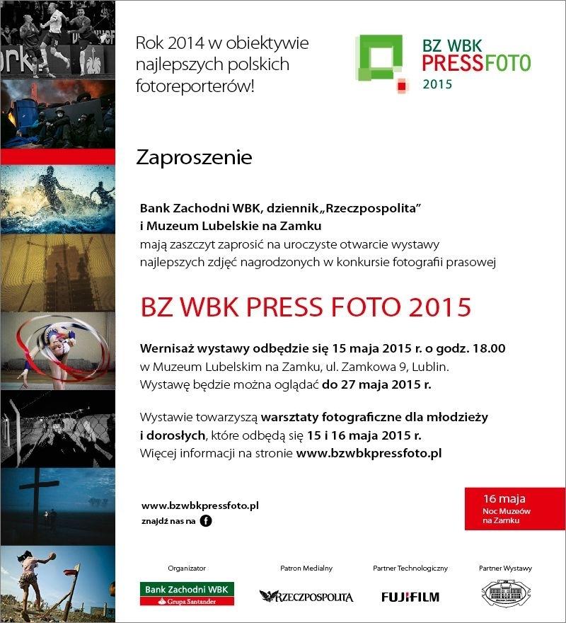Zaproszenie na wernisaż wystawy 15 maja 2015