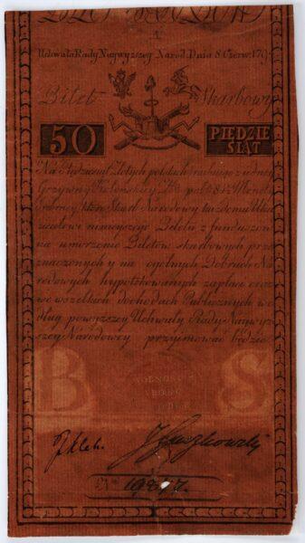 zdjęcie biletu skarbowego