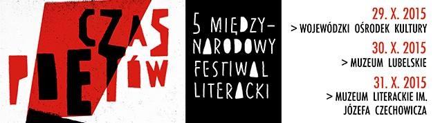 Plakat festiwalu 29-31.10.2015