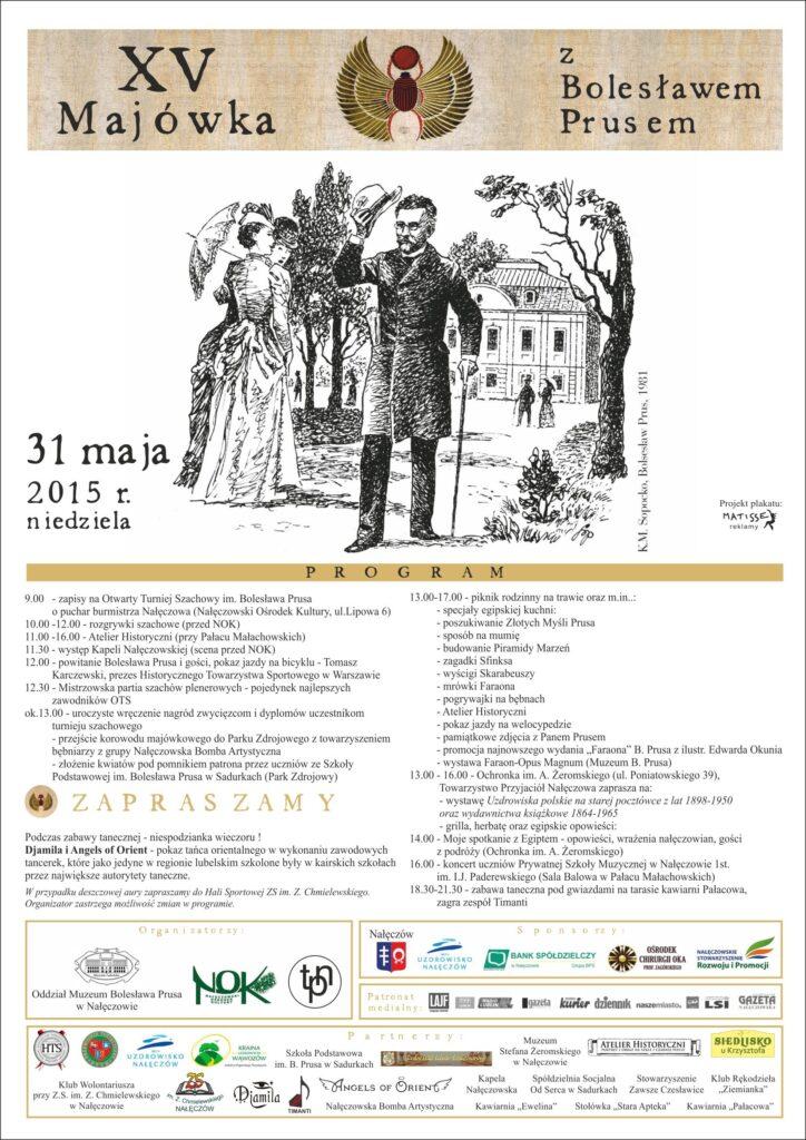 Program XV Majówki z Bolesławem Prusem