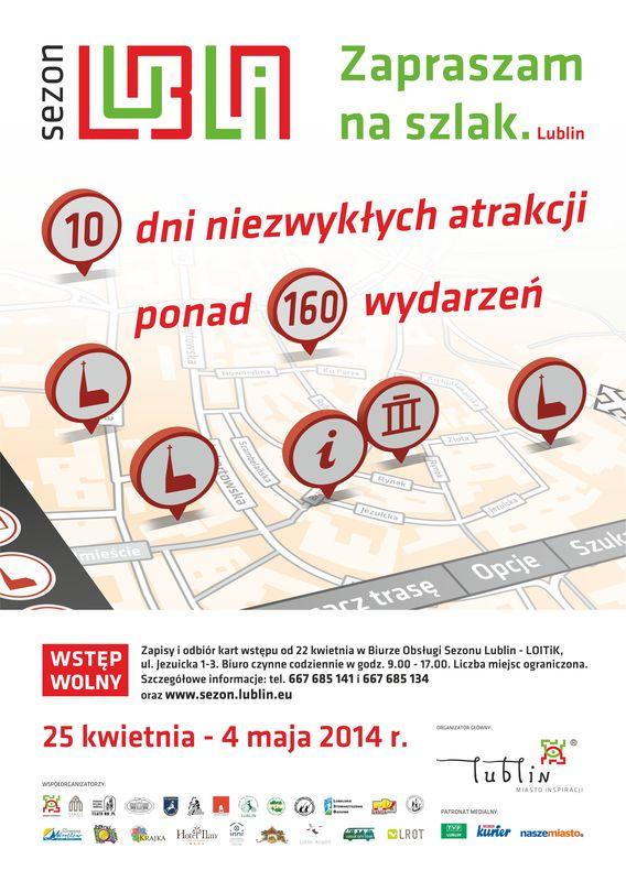 Zaproszenie na Sezon Lublin 2014
