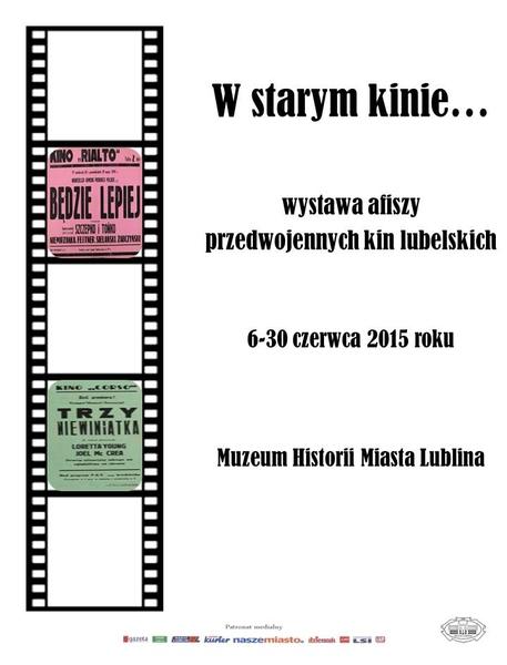 Plakat w STARYM KINIE 6-30 czerwca 2015