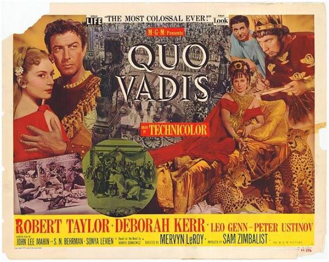 Plakat do filmu Quo vadis