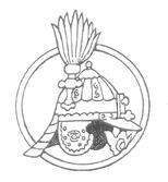 Rysunek hełmu w okręgu