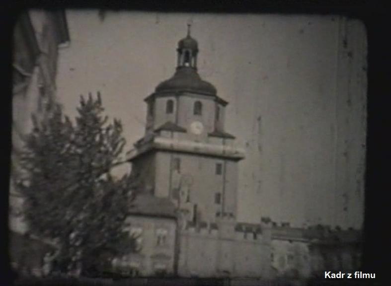 Kadr z filmu - Brama Krakowska w Lublinie