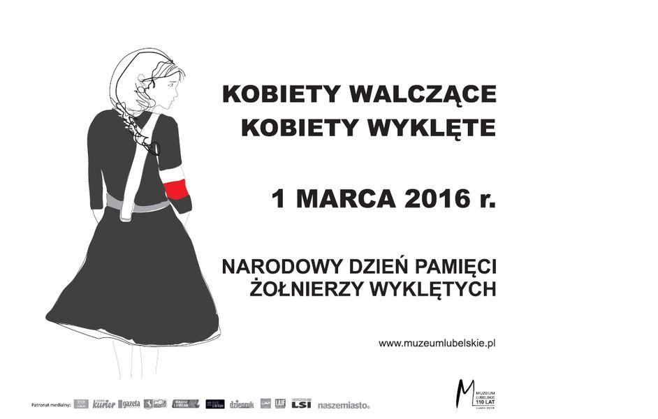 Grafika Kobiety walczące kobiety wyklęte 1 marca 2016