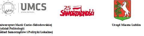 Logotypy UMCS, 25 lat samorządności, Urząd Miasta Lublin