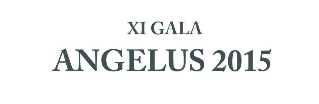 Napis XI Gala Angelus 2015