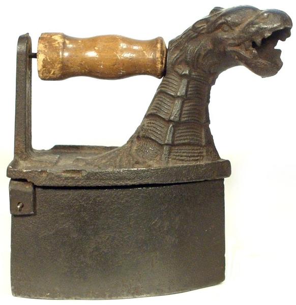 Zdjęcie żeliwnego żelazka