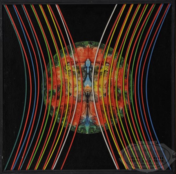 Abstrakcyjny obraz Jana Ziemskiego