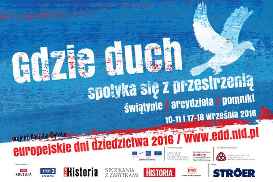 Plakat europejskie dni dziedzictwa 2016