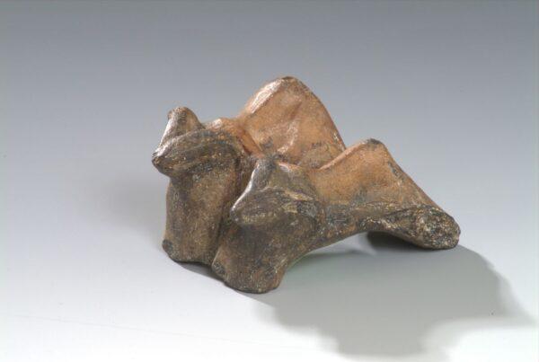 Figurka Ceramiczna woły