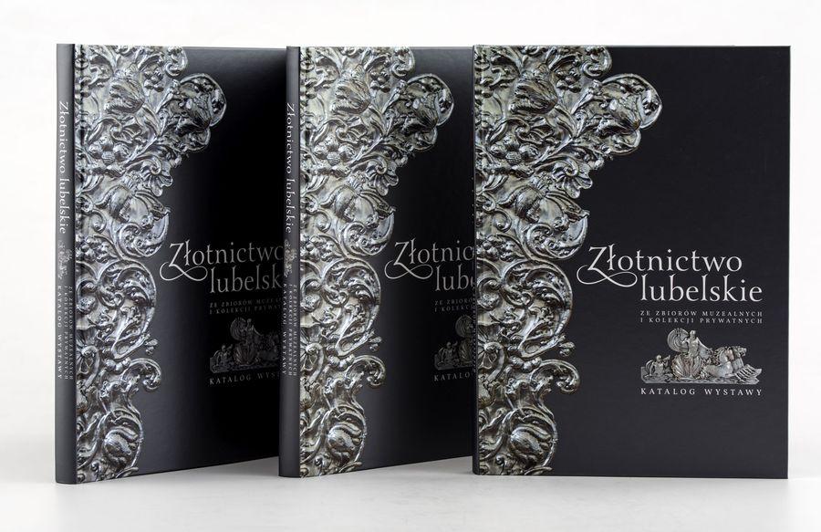 Okładki trzech albumów Złotnictwo lubelskie