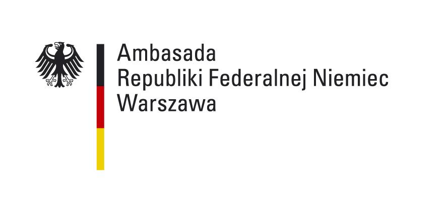 Logotyp Ambasada Republiki Federalnej Niemiec Warszawa