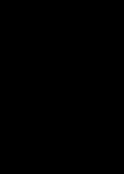 Czarno-biały rysunek przedstawiający bałwana do pokolorowania.
