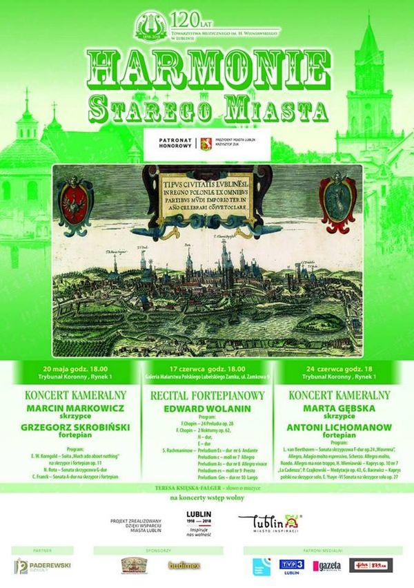 Plakat Harmonie Starego Miasta