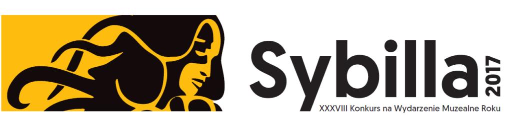 Logo konkursu Sybilla 2017, XXXVIII Konkursu na Wydarzenie Muzealne Roku