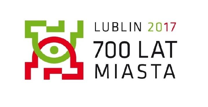 Logotyp Lublin 2017 700 lat miasta