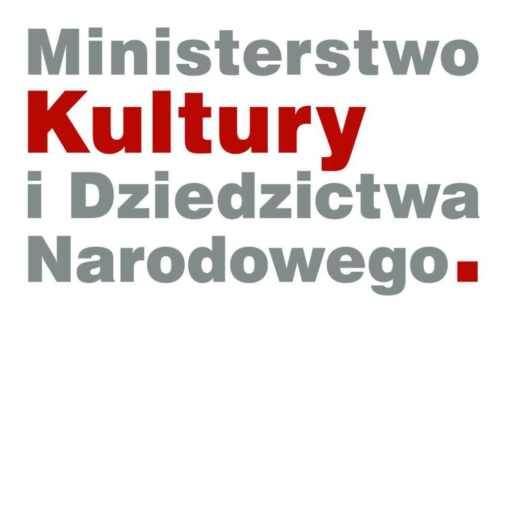 Logotyp Ministerstwa Kultury i Dziedzictwa Narodowego