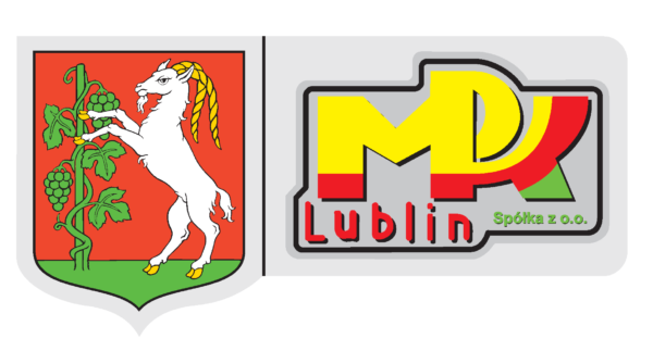Herb Lublina i logotyp MPK Lublin