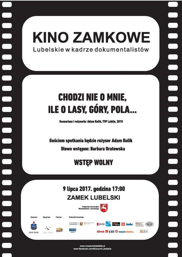 Informacja o projekcji filmu w dniu 9 lipca 2017