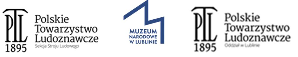 Grafika z logotypami Polskiego Towarzystwa Ludoznawczego i Muzeum Narodowego w Lublinie