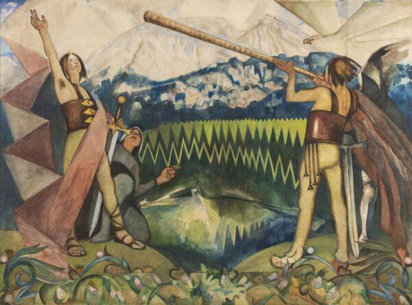 Zdjęcie obrazu legenda gór