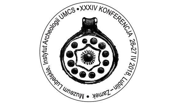 Grafika z informacją o konferencji archeologicznej 2018