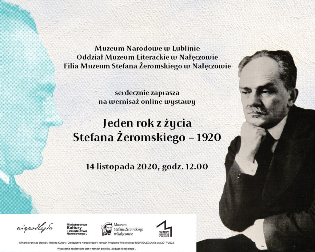 Zaproszenie na wernisaż wystawy online.
