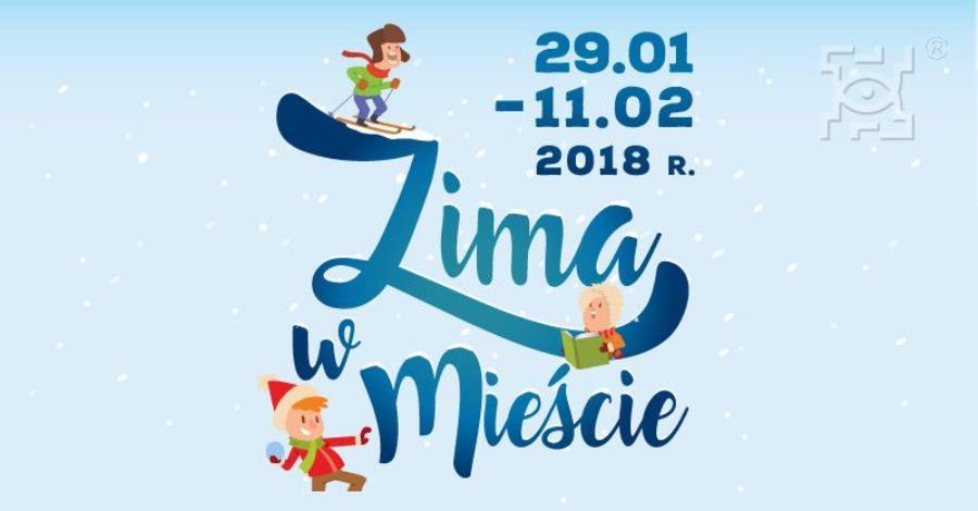 Plakat akcji Zima w mieście